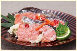 秋乃鮭飯寿司