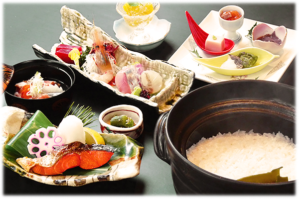 雪中熟成紅鮭御膳 4,000円