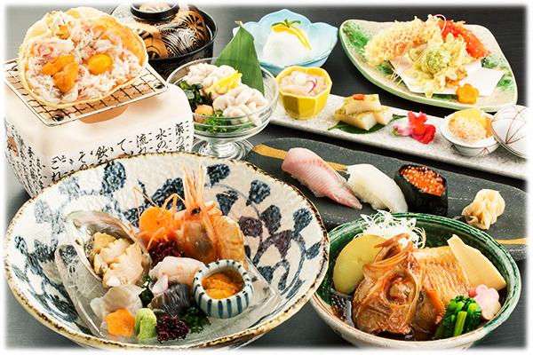 寿司御膳 6,000円